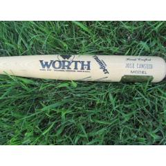 Jose Canseco Signed 40/40 Bat - from Curt Schilling's Personal Collection